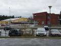 Tavestaskolan och Järna Idrottsplats/Ishall.